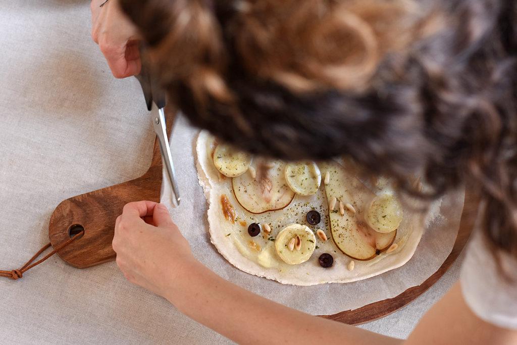 Glutenfreien Flammkuchen selber machen