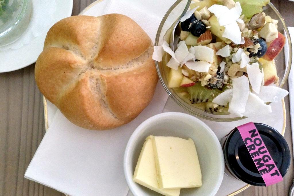Glutenfreies Frühstück im Grünen Salon Wien