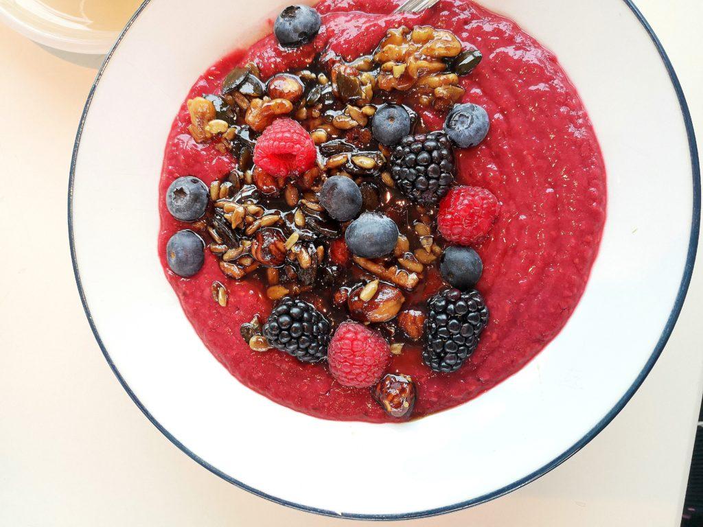 Motto am Fluss - glutenfreies Frühstück