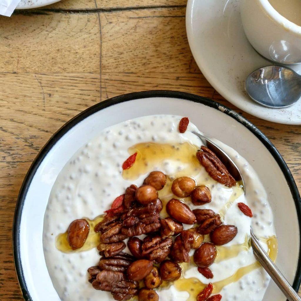 Glutenfrei Frühstücken im Neni in Wien