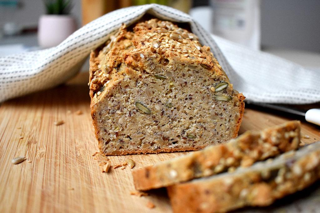 Sauerteigbrot mit Quinoa, glutenfrei