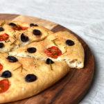 Glutenfreie Focaccia mit Hefe