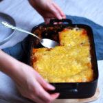 Glutenfreie Lasagne mit Linsen und veganer Béchamel