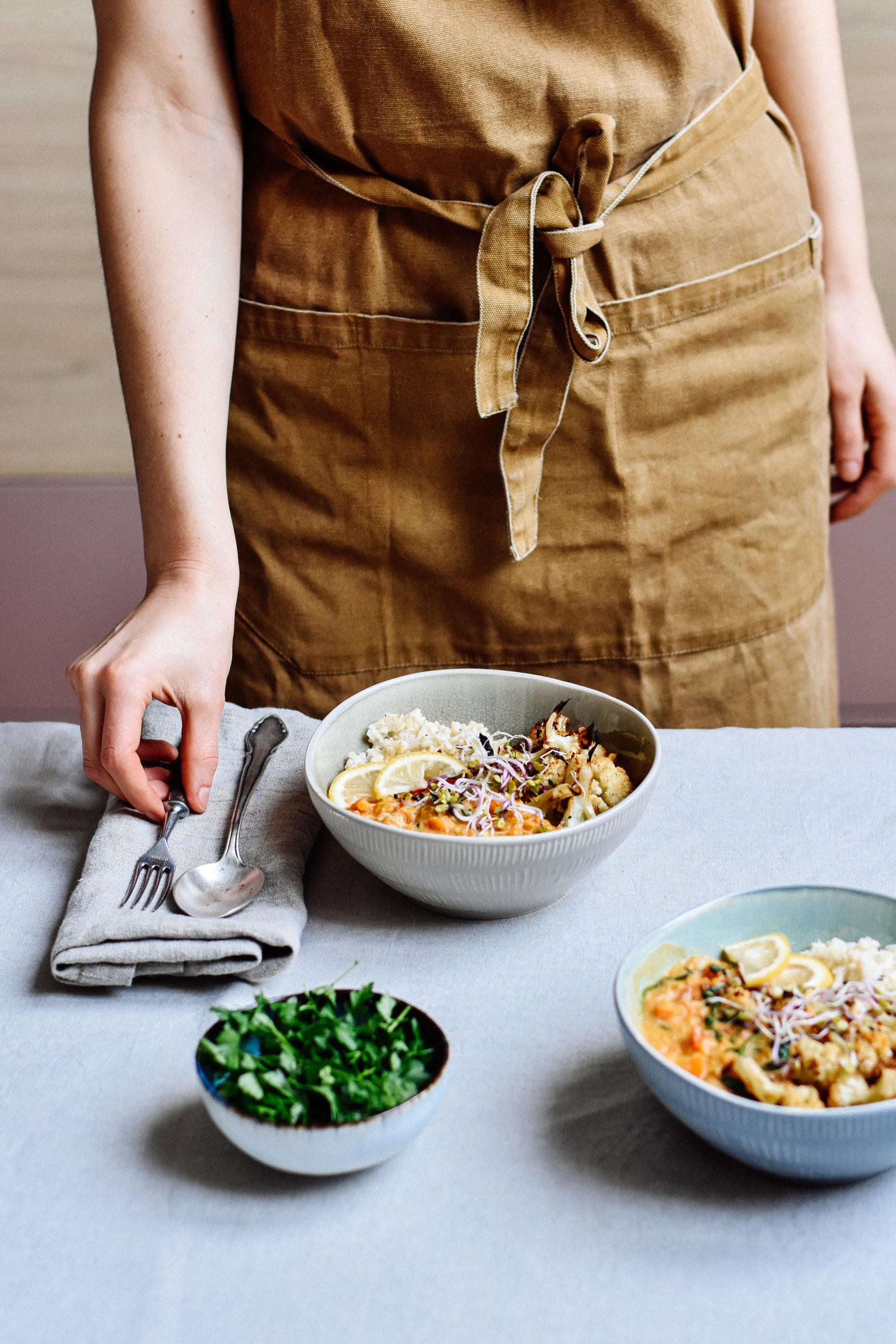 Linsen Dal kochen glutenfrei und vegan