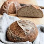 Rezept für glutenfreies Sauerteigbrot mit Knete und längerer Teigruhe